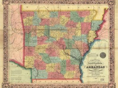 Historical Maps of Arkansas