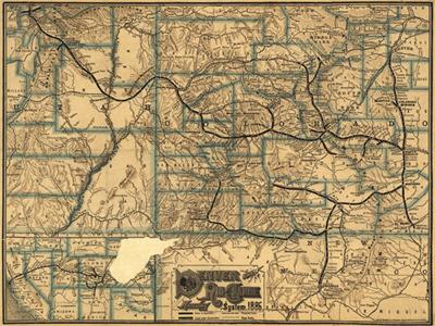 Historical Maps of Colorado
