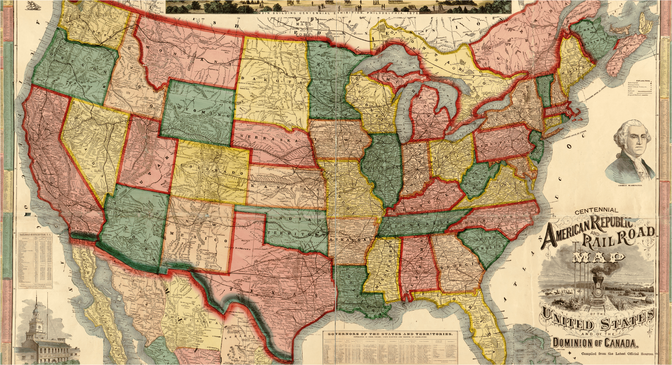 Historical Maps of United States