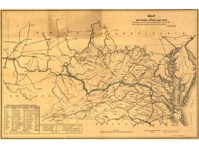 Historical Maps of Virginia