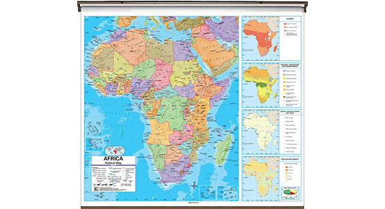 Africa Classroom Maps
