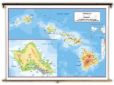 Hawaii State Classroom Maps