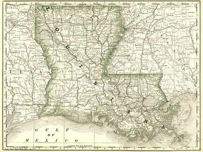 Historical Maps of Louisiana