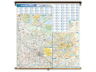 Minnesota State Classroom Maps