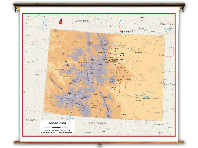 Colorado State Classroom Maps
