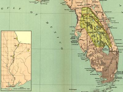 Historical Maps of Florida