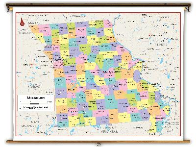 Missouri State Classroom Maps
