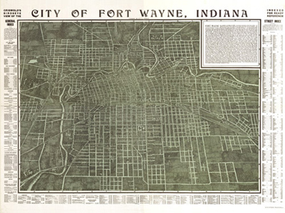 Historical Maps of Indiana