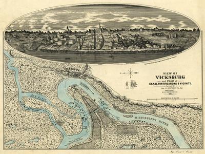 Historical Maps of Mississippi