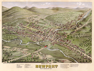 Historical Maps of New Hampshire
