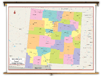 New Mexico State Classroom Maps