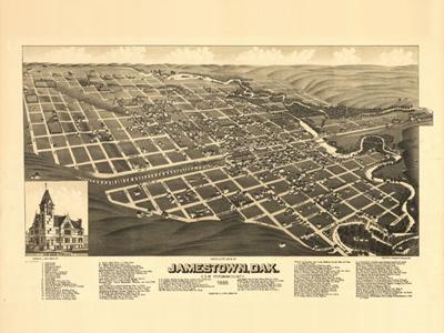 Historical Maps of North Dakota