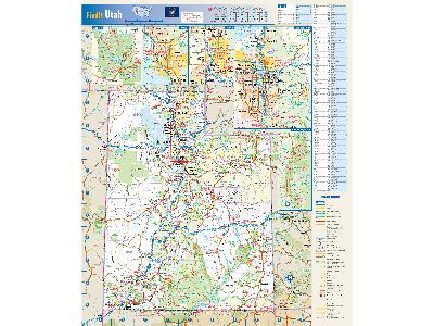 Utah Wall Maps