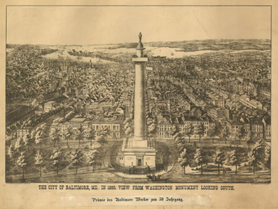 Historical Maps of Maryland
