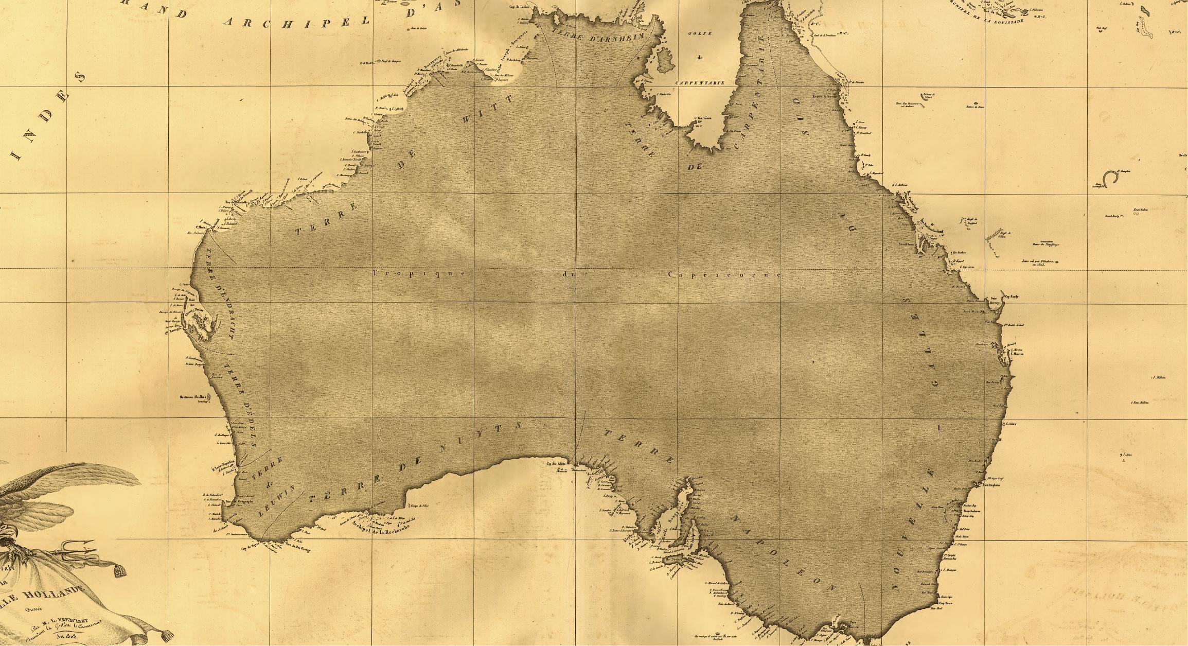 Historical Maps of Australia