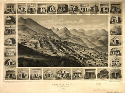 Historical Maps of Nevada