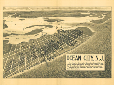 Historical Maps of New Jersey
