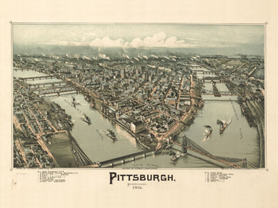 Historical Maps of Pennsylvania