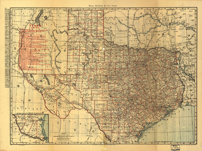 Historical Maps of Texas