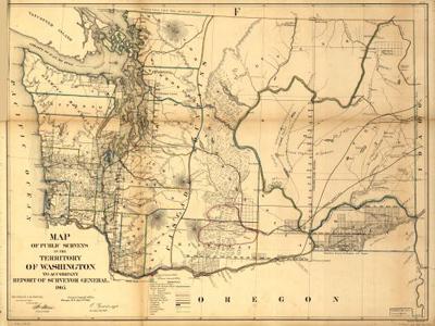 Historical Maps of Washington State
