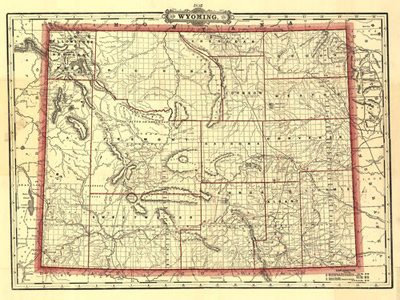 Historical Maps of Wyoming