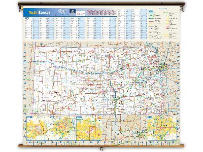 Kansas State Classroom Maps