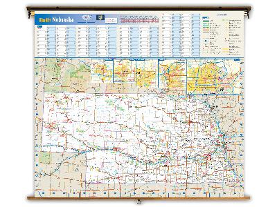Nebraska State Classroom Maps