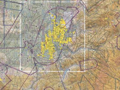 Raised Relief Maps of Arizona
