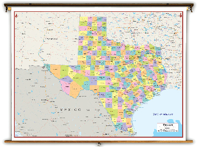 Texas State Classroom Maps