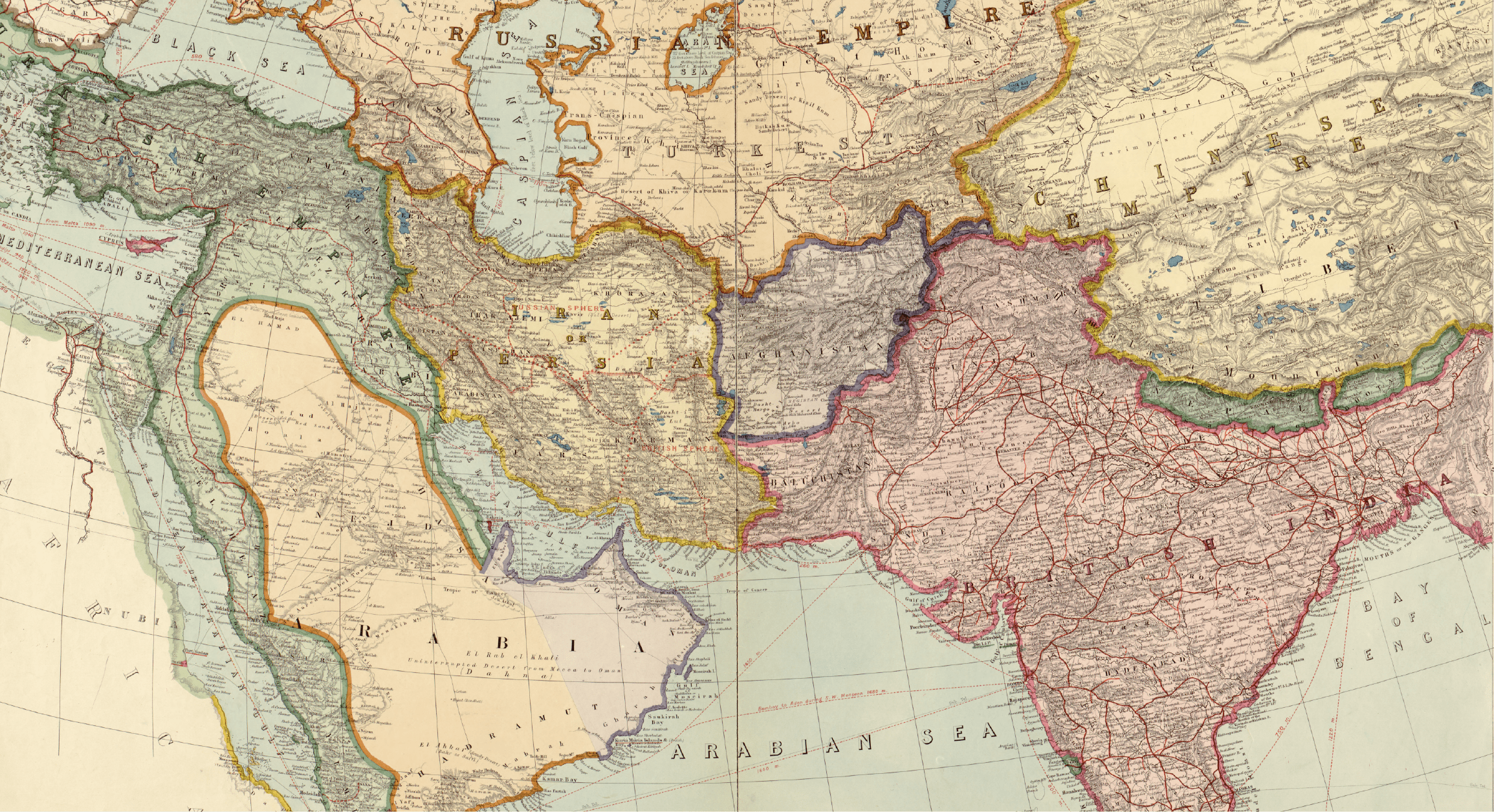 Historical Maps of Asia