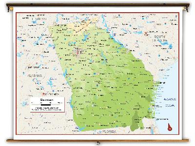 Georgia State Classroom Maps