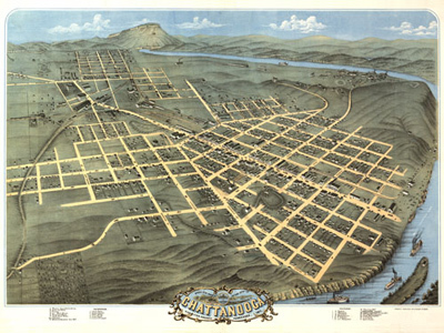 Historical Maps of Tennessee