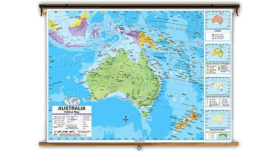 Australia Classroom Maps