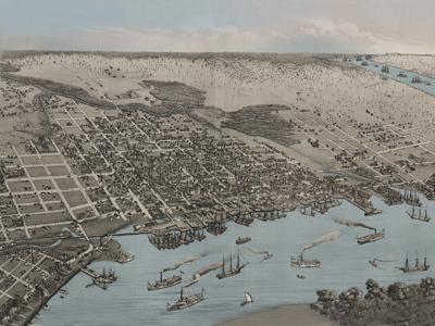 Historical 'Blue Waterways Maps'