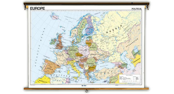 French Language Globes and Maps