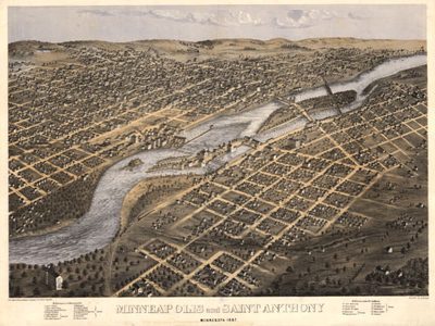 Historical Maps of Minnesota