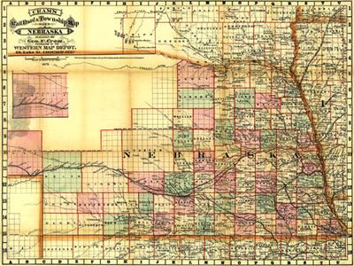 Historical Maps of Nebraska