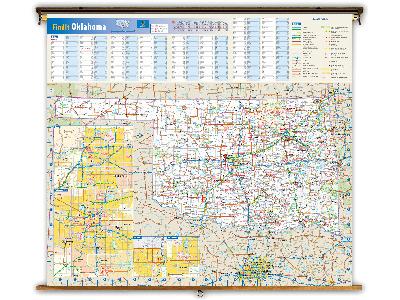 Oklahoma State Classroom Maps