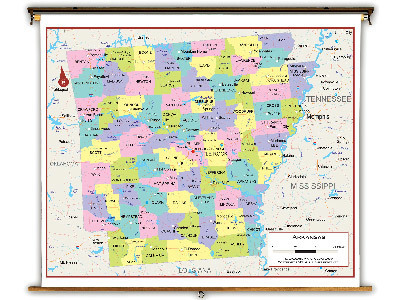 Arkansas State Classroom Maps