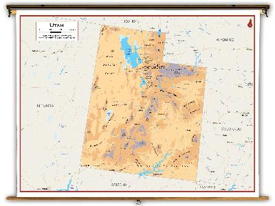 Utah State Classroom Maps