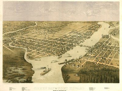 Historical Maps of Wisconsin