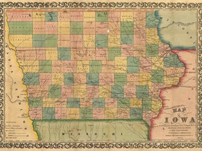 Historical Maps of Iowa
