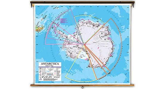 Antarctica Classroom Maps