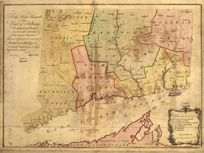 Historical Maps of Connecticut