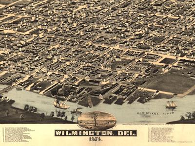 Historical Maps of Delaware