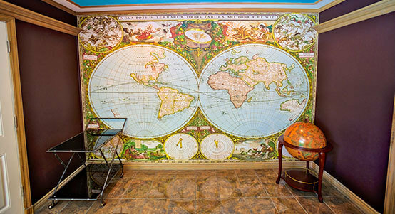 Historical Map Wall Murals