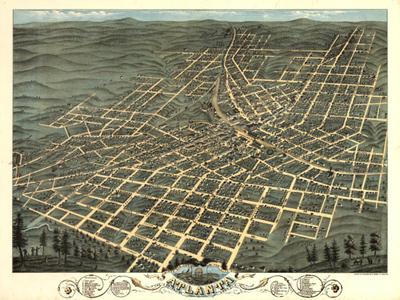 Historical Maps of Georgia