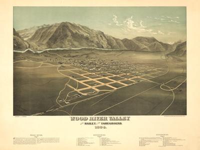 Historical Maps of Idaho