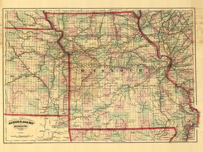 Historical Maps of Missouri