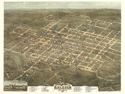 Historical Maps of North Carolina